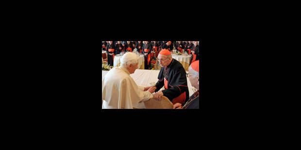 Solidarité avec le pape pour les 5 ans de son élection - La Libre