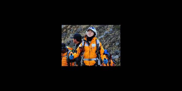 Première femme à gravir les 14 plus hauts sommets