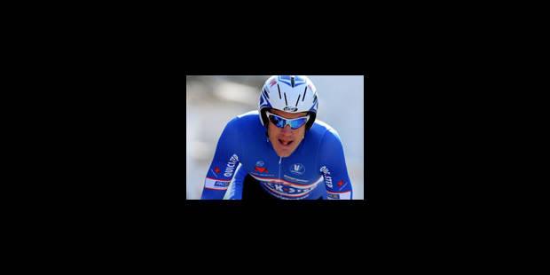 3e étape: Weylandt vainqueur, Vinokourov en rose