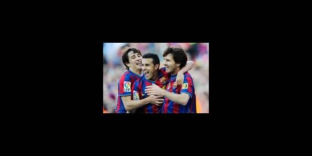 Le Barça, roi d'Espagne