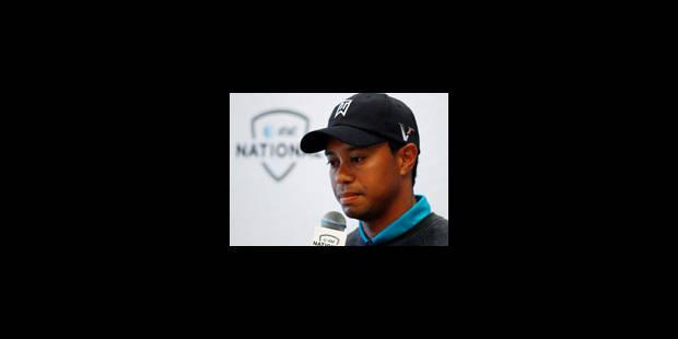 Tiger Woods souffre d'une inflammation articulaire au cou - La Libre