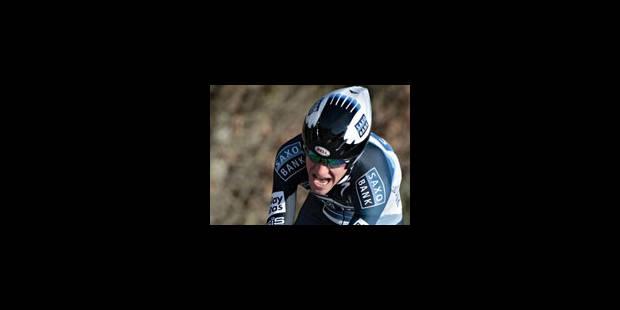 Victoire en solitaire de Chris Sorensen dans la 8e étape - La Libre