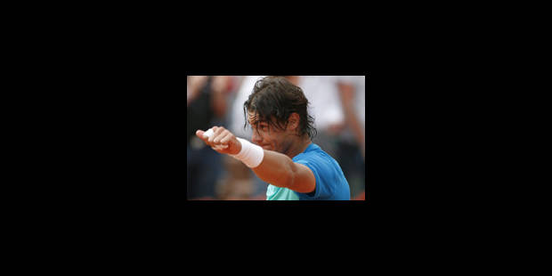 Roland Garros: Nadal sort Gianni Mina