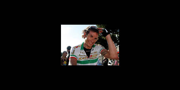 Filippo Pozzato (Katusha) gagne la 12e étape du Tour d'Italie - La Libre