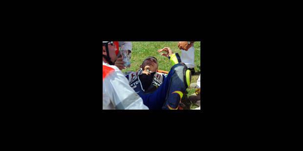 Moto - Rossi se fracture le tibia - La Libre
