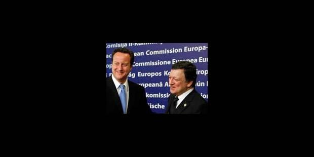 Gouvernance: Barroso et Cameron critiquent implicitement la France - La Libre