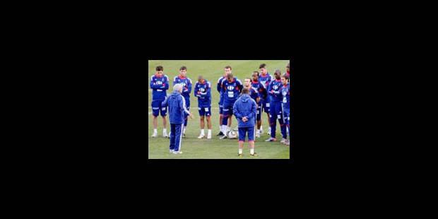 Les Bleus ont repris l'entraînement