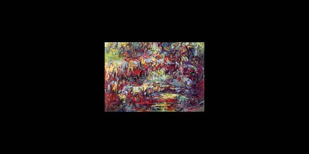 Monet, Jackson Pollock, même combat - La Libre