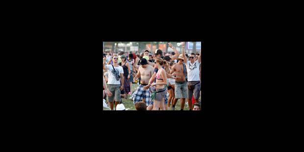 """Rock Werchter: """"Le jour le plus chaud de l'histoire du festival"""" - La Libre"""