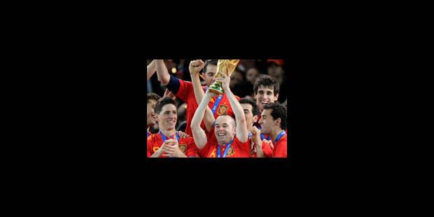 L'Espagne Championne du monde! - La Libre