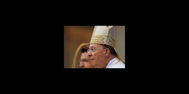 Le premier Te Deum de Mgr Léonard