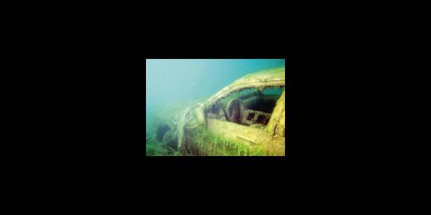 Sous l'eau, les yeux grands ouverts