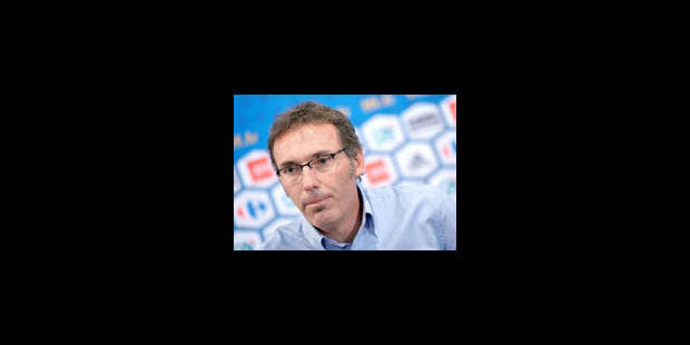 Laurent Blanc démissionnera s'il ne qualifie pas la France à l'Euro-2012