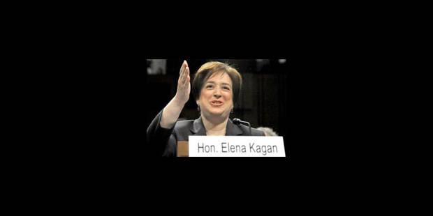 L'adoubement d'Elena Kagan