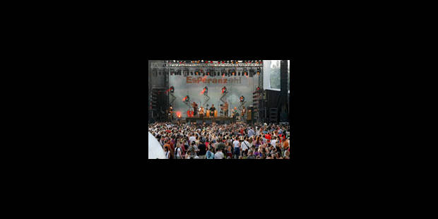 Plus de 27.000 spectateurs au festival Esperanzah! - La Libre