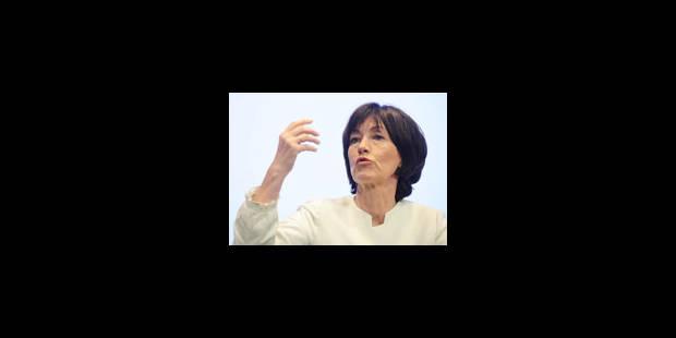 """Laurette Onkelinx: """"Il faut se préparer à la fin de la Belgique"""""""