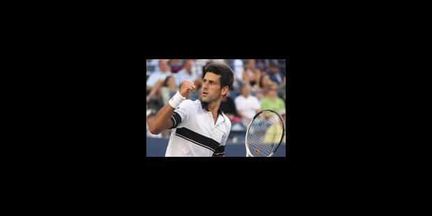 Djokovic prive New York d'une finale entre Federer et Nadal
