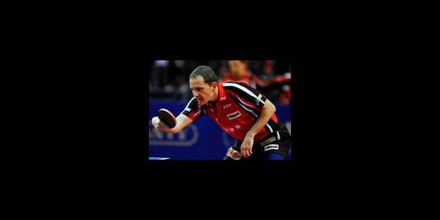 Tennis de table: Jean-Michel Saive en quarts de finale - La Libre