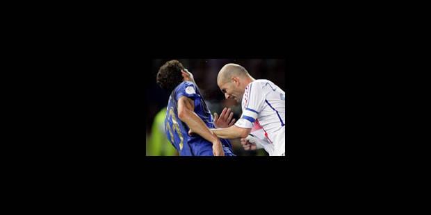 Zidane et Materazzi ont fait la paix à Milan - La Libre