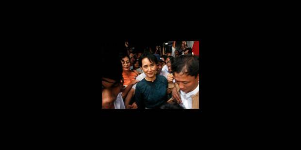 Le retour de celle qui incarne toujours une Birmanie à visage humain