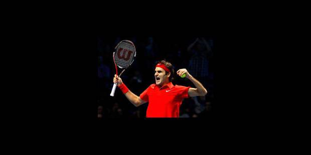 """Roger Federer, """"le"""" Master chef"""
