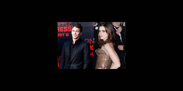 James Franco et Anne Hathaway présenteront les Oscars - La Libre
