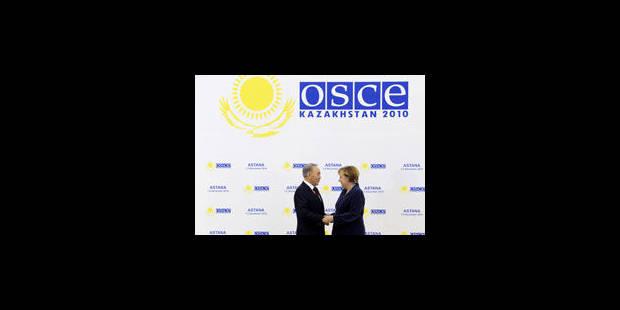 Les Etats de l'OSCE à la recherche du compromis sur une déclaration finale