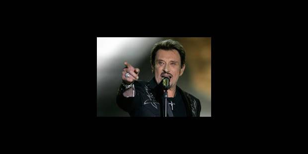 Johnny Hallyday sur scène à Montpellier - La Libre