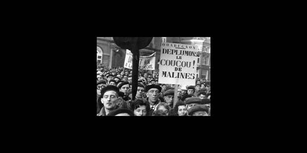"La grande grève contre la ""loi inique"" fit émerger la Wallonie - La Libre"