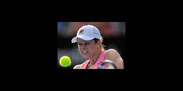 Kim Clijsters battue par la Chinoise Li Na en finale à Sydney