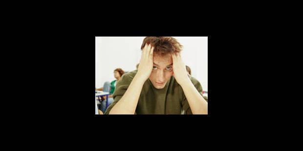 Ecrire calmerait la peur de l'examen - La Libre