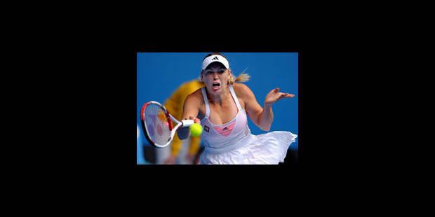 Wozniacki et Henin au pas de charge, Gasquet assure - La Libre