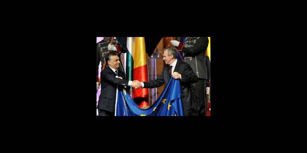 Concert de louanges pour les six mois de présidence belge - La Libre