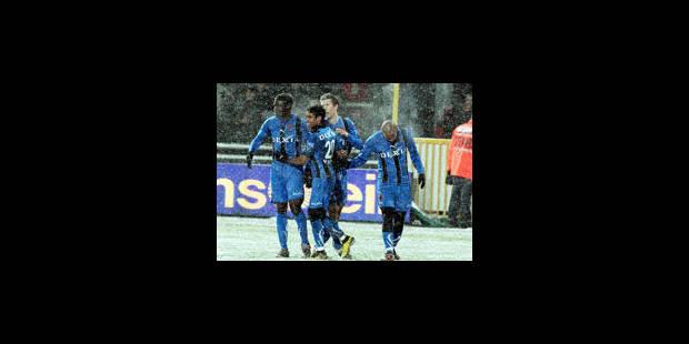 Bruges bat facilement Eupen (1-4)