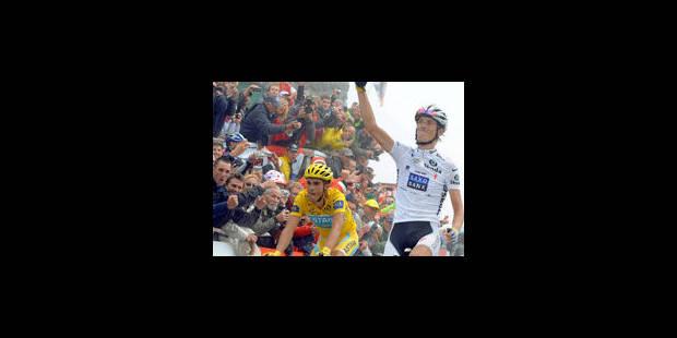 Contador suspendu un an - La Libre