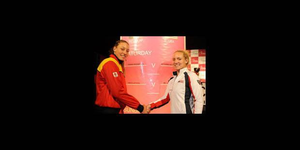 Fed Cup: Wickmayer VS Mattek-Sands en ouverture