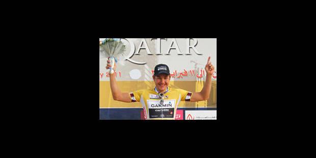 3e étape: Haussler gagne et ravi le maillot à Boonen - La Libre