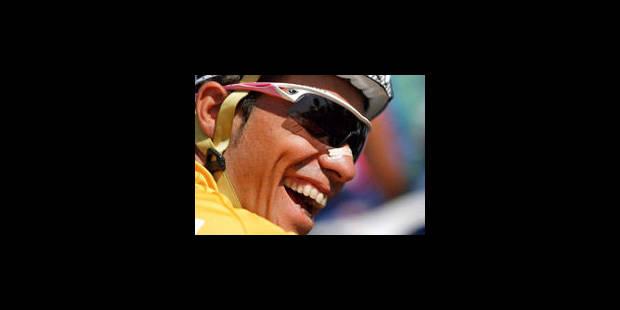 Contador au départ du Tour d'Algarve mercredi - La Libre
