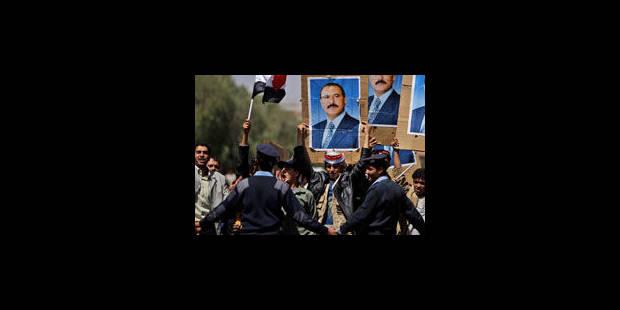 """Yémen: le président Saleh dit qu'il ne partira que """"par les urnes"""""""