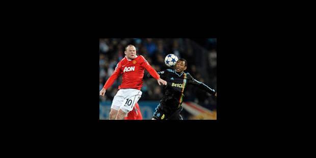 Nul blanc entre l'OM et Manchester United