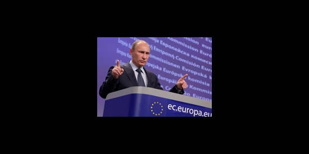Poutine cite la Belgique lorsqu'il parle des problèmes de la démocratie - La Libre