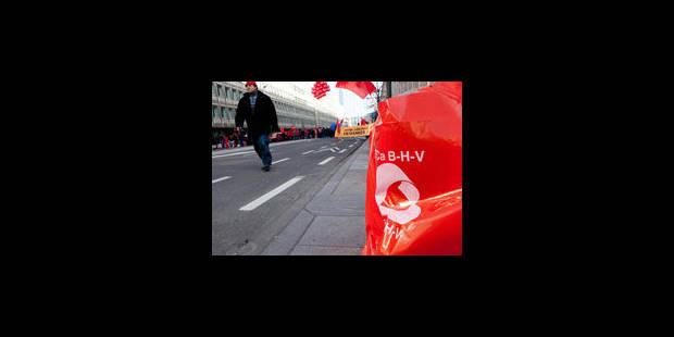 Un syndicaliste blessé à Wavre, 2 blessés à Houdeng - La Libre