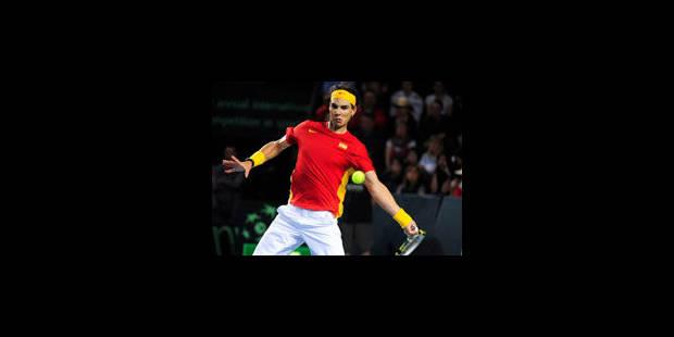 Rafael Nadal offre le deuxième point à l'Espagne - La Libre