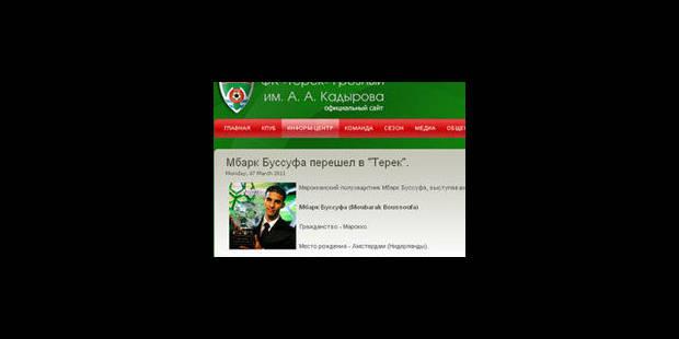 Boussoufa signerait à Grozny: suite des négociations mardi