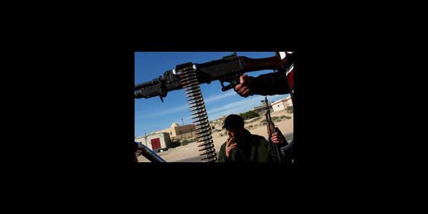 Libye: les forces de Kadhafi progressent vers Benghazi - La Libre