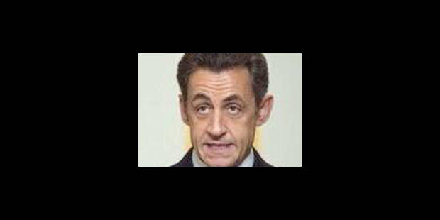 Sarkozy contre un front anti-FN - La Libre
