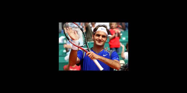 Un Federer express en huitièmes à Monte-Carlo - La Libre