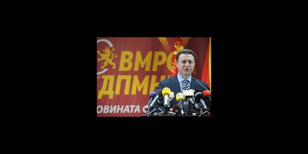 Macédoine: dissolution du parlement, vers des élections anticipées