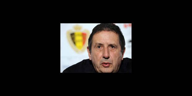 """""""Le match le plus important des Diables depuis 10 ans"""", selon Leekens"""