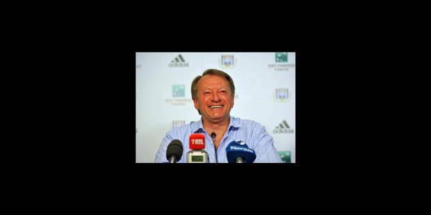 Ariel Jacobs confirmé au poste d'entraîneur d'Anderlecht